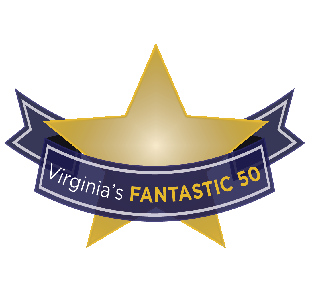 Virginia's Fantastic 50 badge