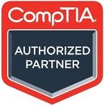 CompTIA Authorized Partner badge