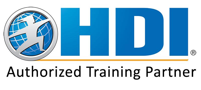 HDI authorized training partner badge