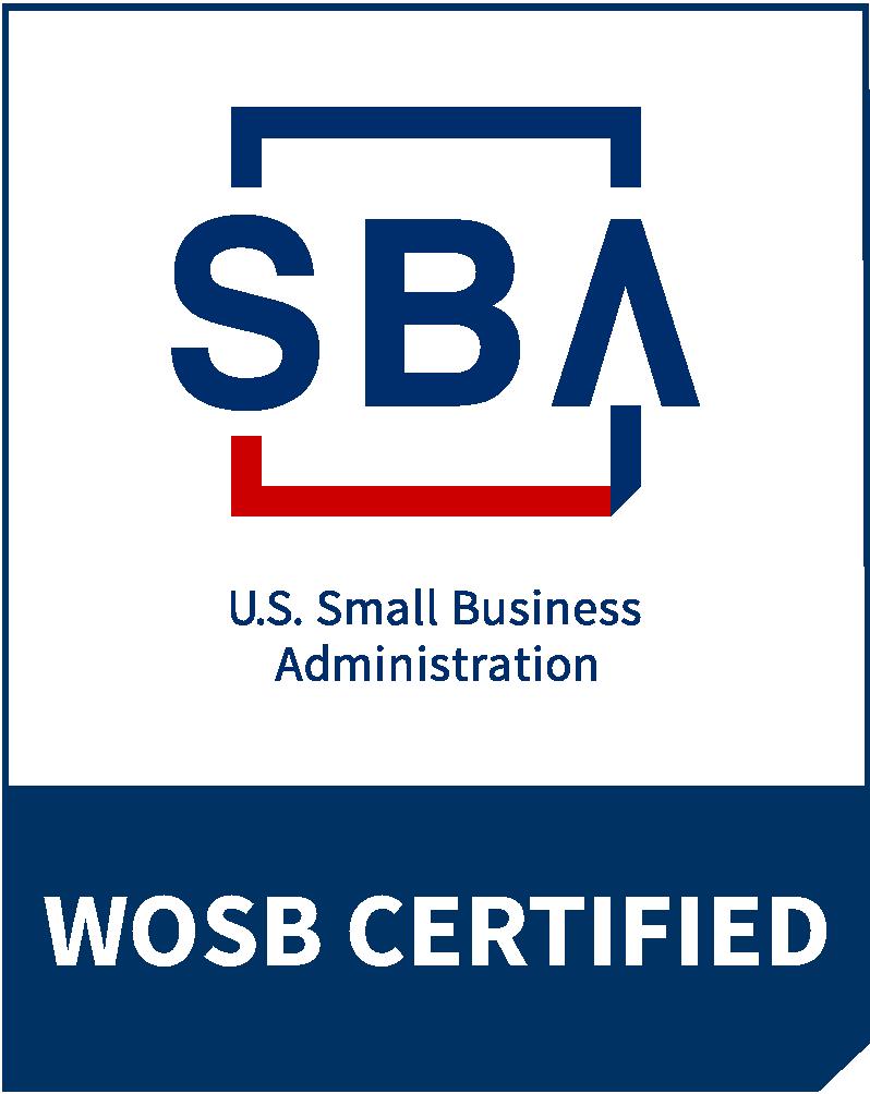 SBA logo - certified WOSB