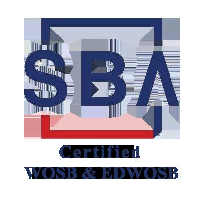 SBA logo - certified WOSB & EDWOSB