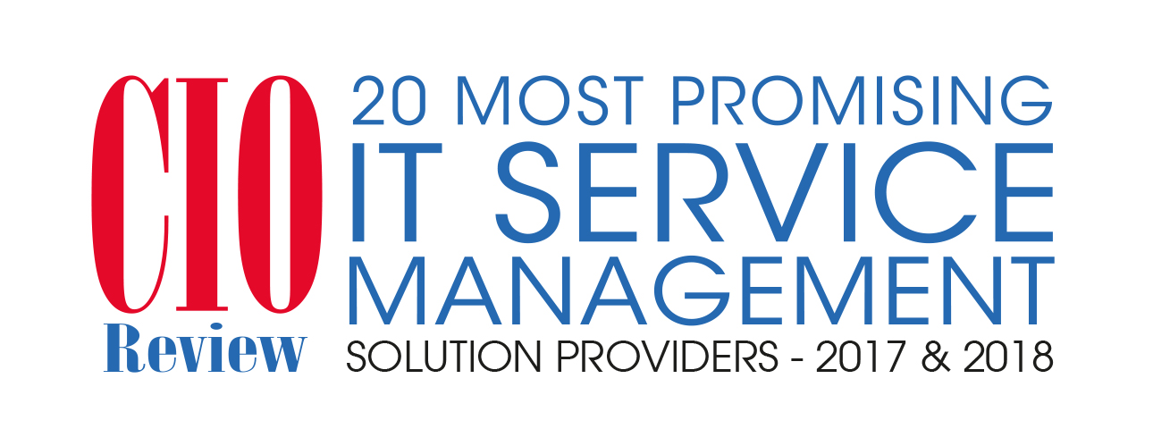 CIO Review logo - 20 most promising IT service management solution providers - 2017 & 2018