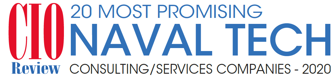 CIO Review logo - 20 most promising Naval Tech consulting / services companies - 2020