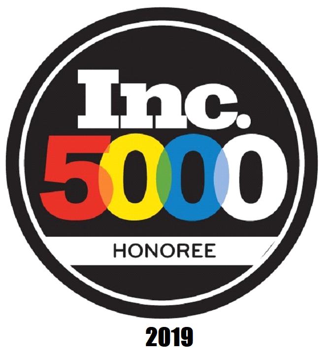 Inc. 5000 Honoree badge